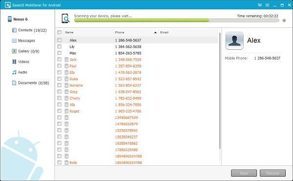 EaseUS MobiSave восстановит утерянные данные с Android-устройств