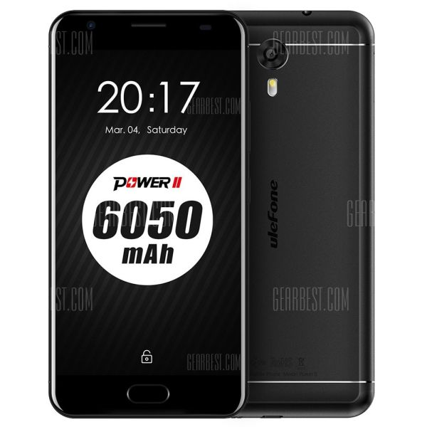 Смартфон Ulefone Power 2 с мега-емким аккумулятором можно купить со скидкой