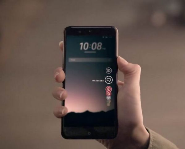 Смартфон HTC U с сенсорными боковыми панелями покажут в апреле