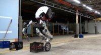 Компания Boston Dynamics официально представила Handle, своего нового двухколесного робота