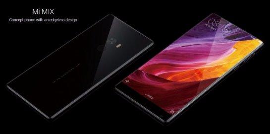 Xiaomi представила новый смартфон Mi Mix