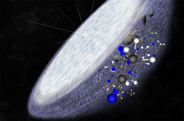 Ученые: На звездах обнаружена органика