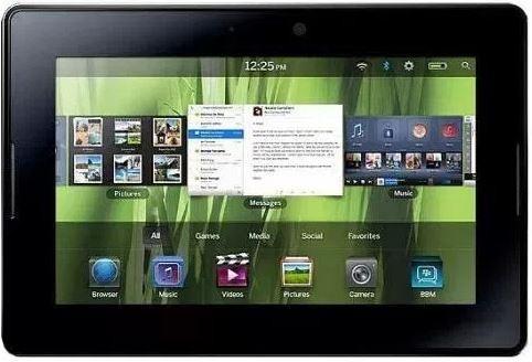 BlackBerry может выпустить новый планшетный компьютер