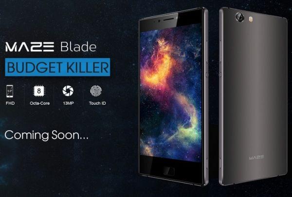 Смартфон Maze Blade сможет похвастаться невысокой ценой