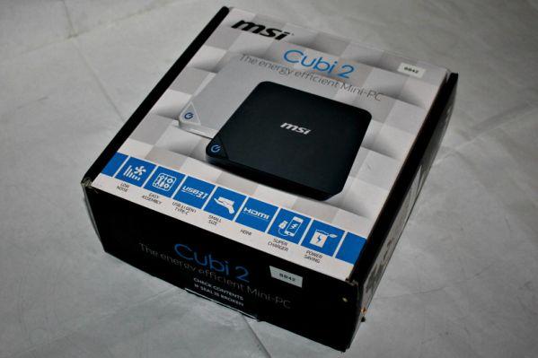 MSI Cubi 2 – компактный ПК на Intel Kaby Lake