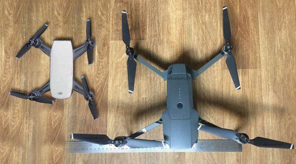 Фотографии нового дрона DJI Spark попали в интернет