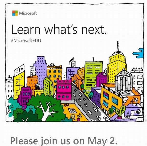 Microsoft готовит презентацию новых гаджетов в начале мая