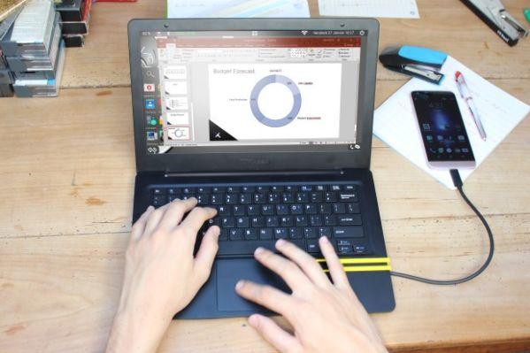 Док-станцию Mirabook в виде ноутбука оценили в $180