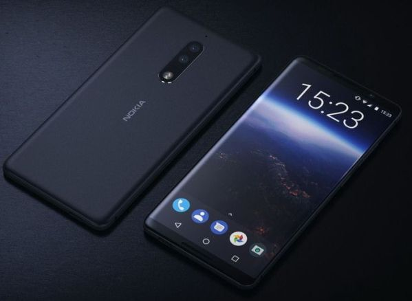 Создан первый концепт Nokia 9 с безрамочным экраном