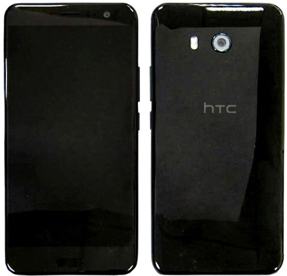 «Живое» фото HTC U показало банальность его дизайна