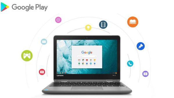 Ноутбук Lenovo Flex 11 Chromebook получил доступ к Android-приложениям
