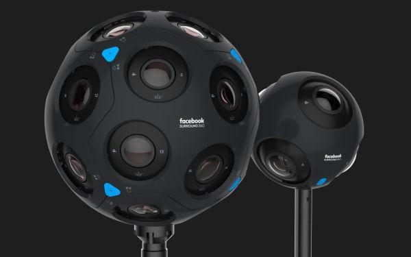 Facebook представила две сферические камеры
