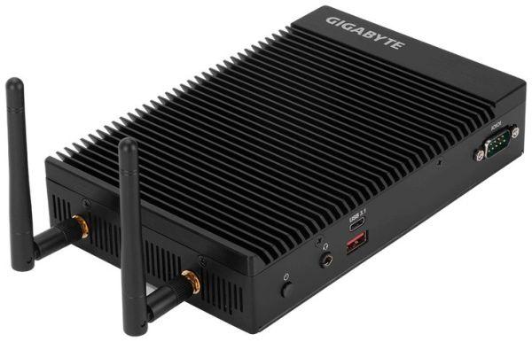 В неттопе Gigabyte GB-EKi3A-7100 нет активного охлаждения