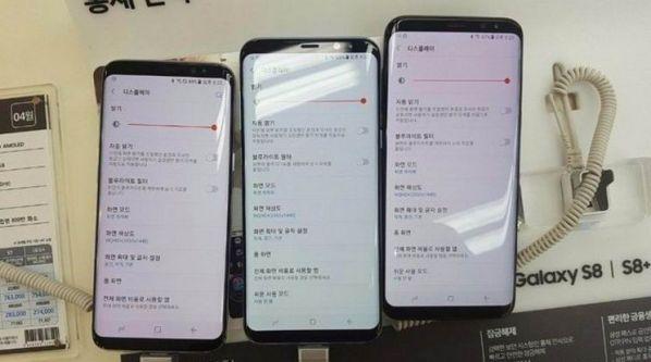 Смартфон Samsung Galaxy S8 поступил в продажу
