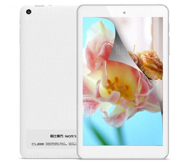 На планшет Cube iWork8 Air Pro установлены две ОС