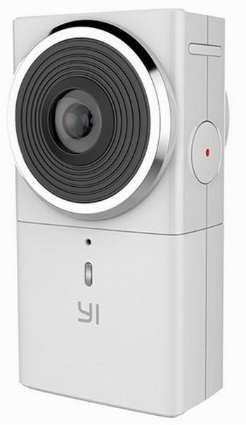 Камера YI 360 VR умеет писать панорамные видеоролики