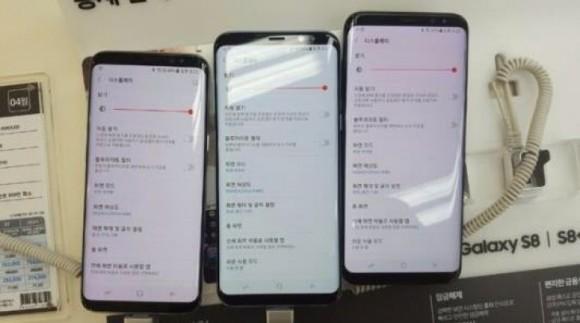 Samsung S8 и S8+ вышли в России и излечились от красноты экрана