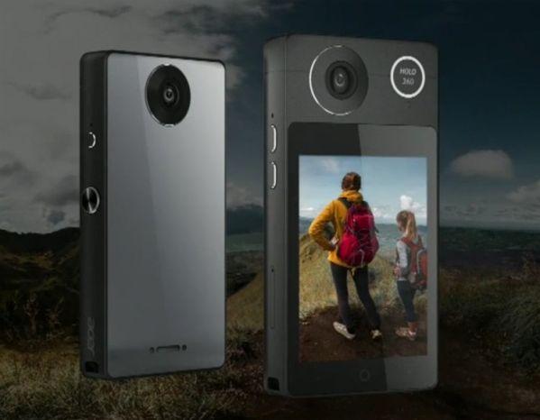Панорамная камера Acer Holo 360 поддерживает сети LTE