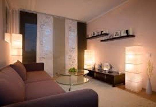 Интерьер съемной квартиры