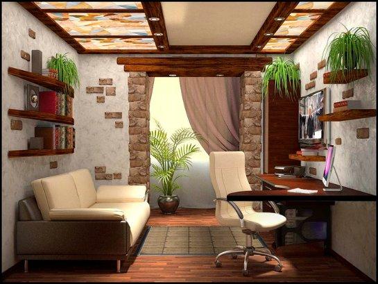 Как обустроить личный кабинет в своей квартире
