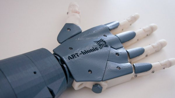Студенты ДВФУ создали биопротез руки