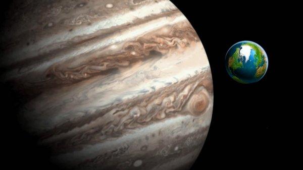 Ученые: Радиоволны Юпитера создают помехи на Земле
