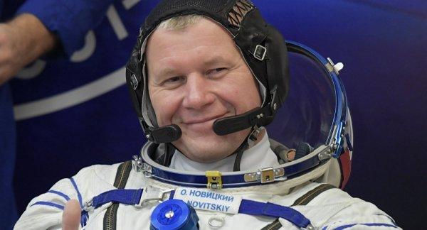 Возвращение космонавта Новицкого с МКС назначено на 2 июня