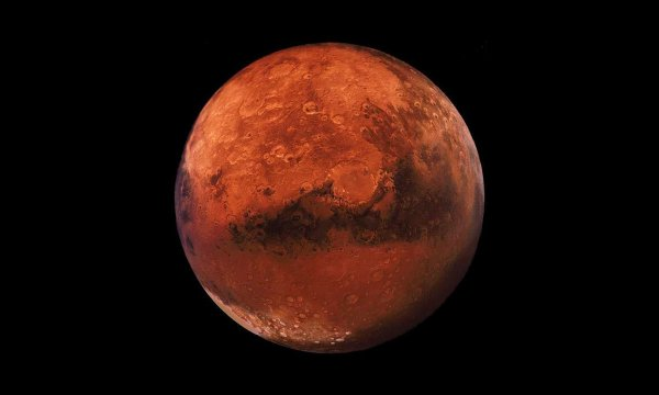 Ученые считают, что древний вулкан уничтожил жизнь на Марсе