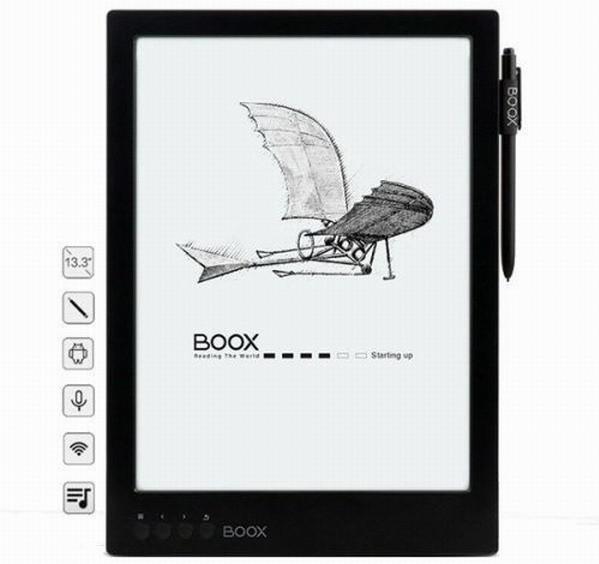 Ридер Onyx Boox Max Carta щеголяет большим экраном с высоким разрешением