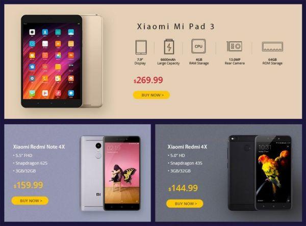 Скидки на новинки Xiaomi можно получить в GearBest