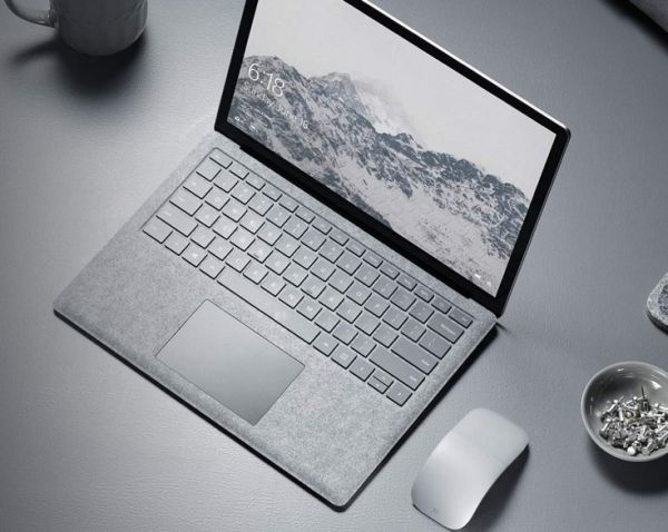 Ноутбук Microsoft Surface Laptop украсили алькантарой