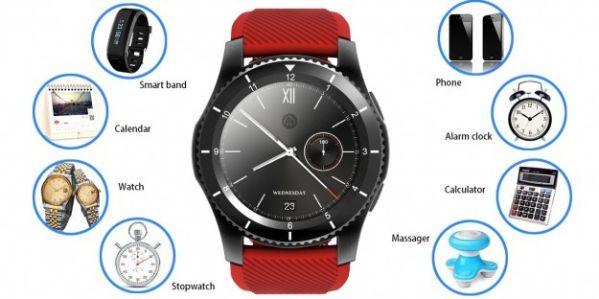 Анонсированы умные часы No.1 G8