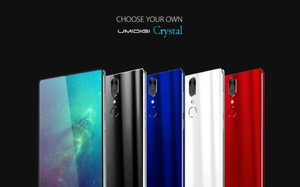 Безрамочный смартфон UMIDIGI Crystal оценили в $100