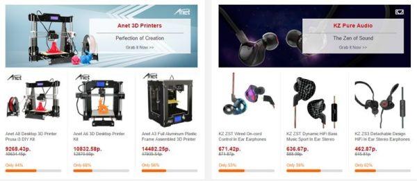 GearBest установил скидки на акустику и смартфоны