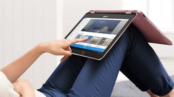 Трансформер ASUS VivoBook Flip 12 умеет работать со стилусом