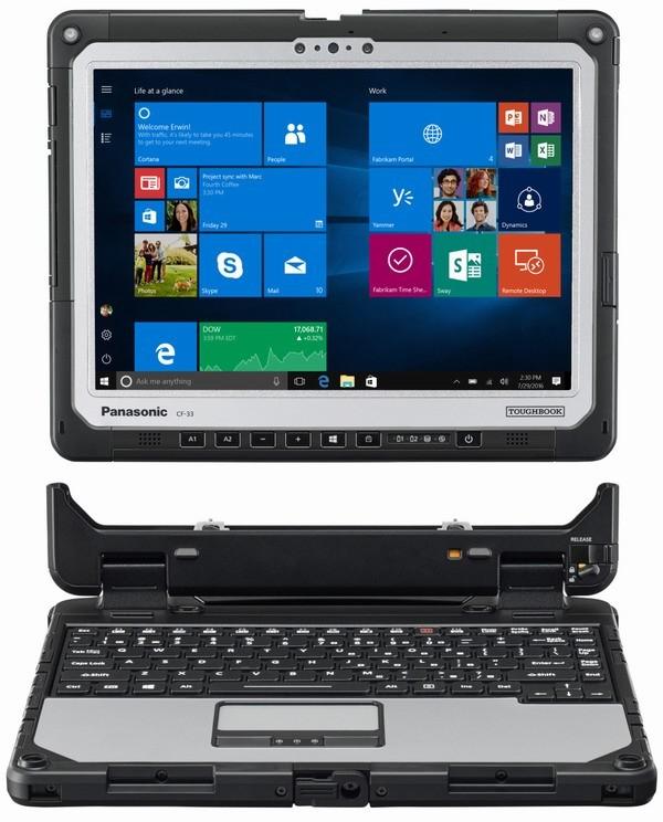 Мужской планшет Panasonic Toughbook 33 вышел в продажу