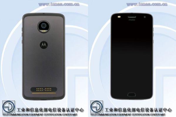 Смартфон Moto Z2 Play показался на сайте TENAA