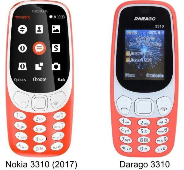 В Китае снова клонировали Nokia 3310