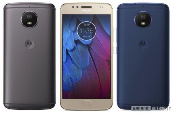 Корпус смартфона Moto G5S изготовлен из металла