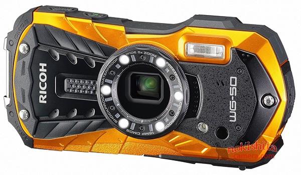 Опубликованы рендеры высокопрочной камеры Ricoh WG-50