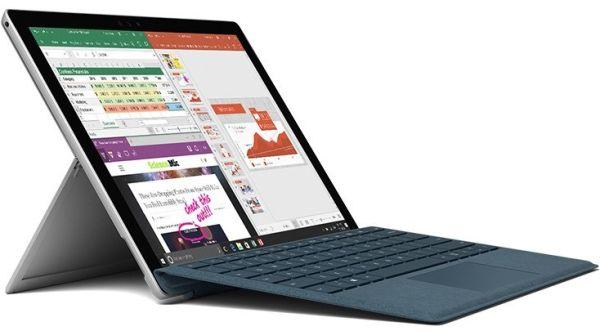 Microsoft показала мобильный компьютер Surface Pro