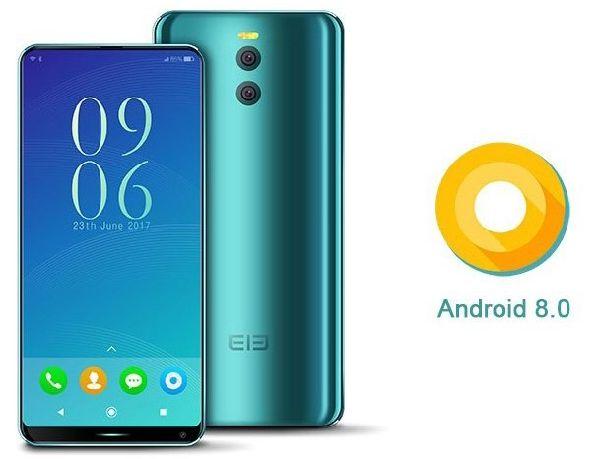 Elephone рассказала о безрамочном смартфоне на Android 8