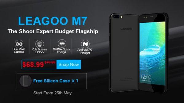 Глобальный предзаказ на смартфон LEAGOO M7 с двойной камерой