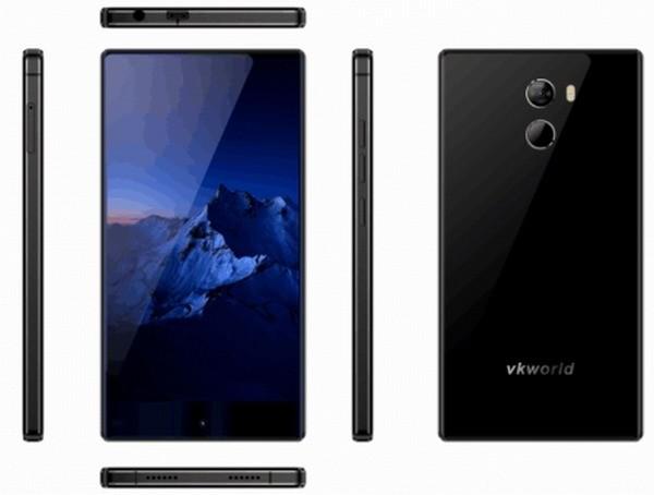 Vkworld Mix+: еще один безрамочный смартфон из КНР