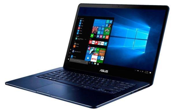 Ноутбук Asus ZenBook Pro (UX550) собран на Core i7-7700HQ