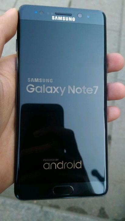 Как выглядит восстановленный смартфон Samsung Galaxy Note7?