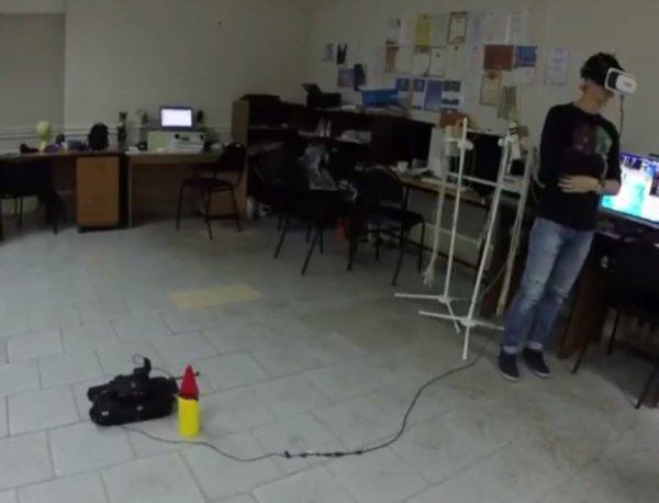 Специалисты из ВГУ сняли на видео управление танком силой мысли