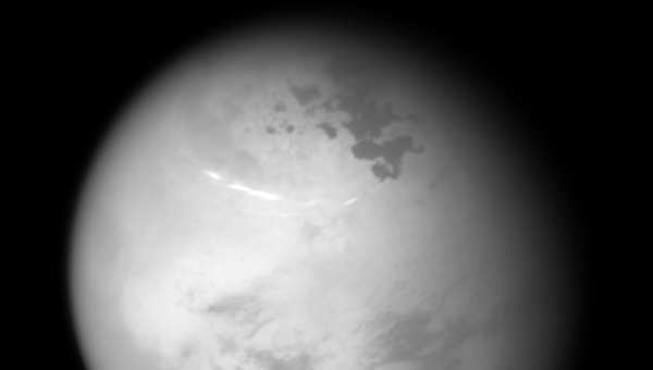 «Кассини» показал снимки лета на северном полушарии Титана