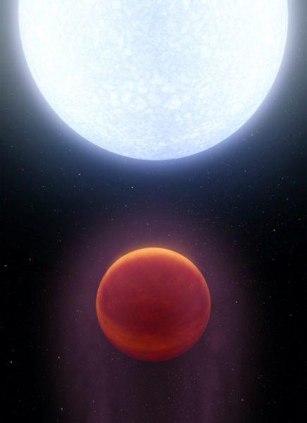 Ученые открыли планету KELT-9b, которая всего на 1 тысячу градусов холоднее Солнца