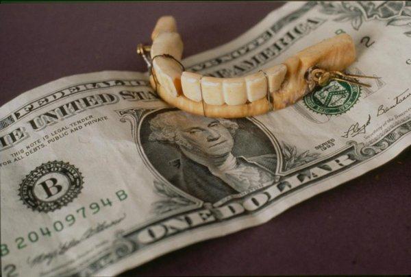 Ученые: Джордж Вашингтон стеснялся деревянных зубов